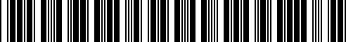 Barcode for 52538564243