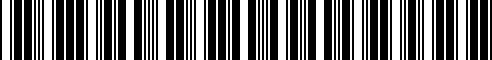 Barcode for 71607696117
