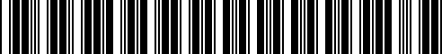 Barcode for 77228555583