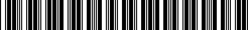 Barcode for 77252446856