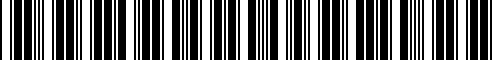Barcode for 77258527057