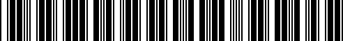 Barcode for 77518563702