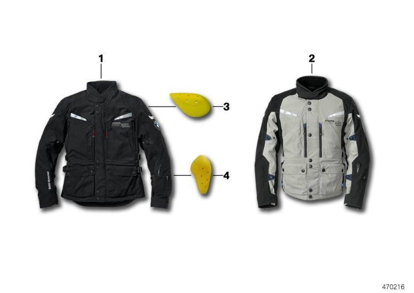 "Diagram Jacket Street AIR Dry Men""s - 2016 Jacket Street AIR Dry men - 2016 for your BMW"