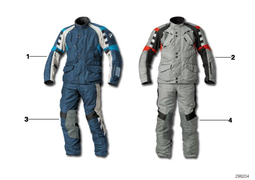 Diagram Suit Rallye, men- 2012/2016 for your BMW